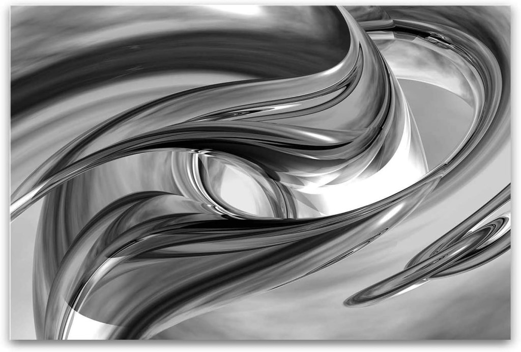 Startonight Canvas Wall Art Black and White Abstract Destiny
