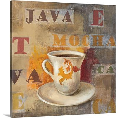 Urban Cafe III by Silvia Vassileva Coffee Art Print