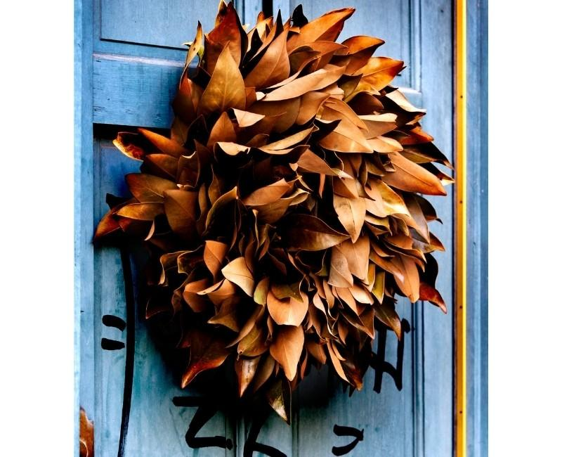 Dried Corn Husk Fall Wreath Ideas