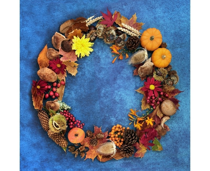 Fall Bounty Wreath