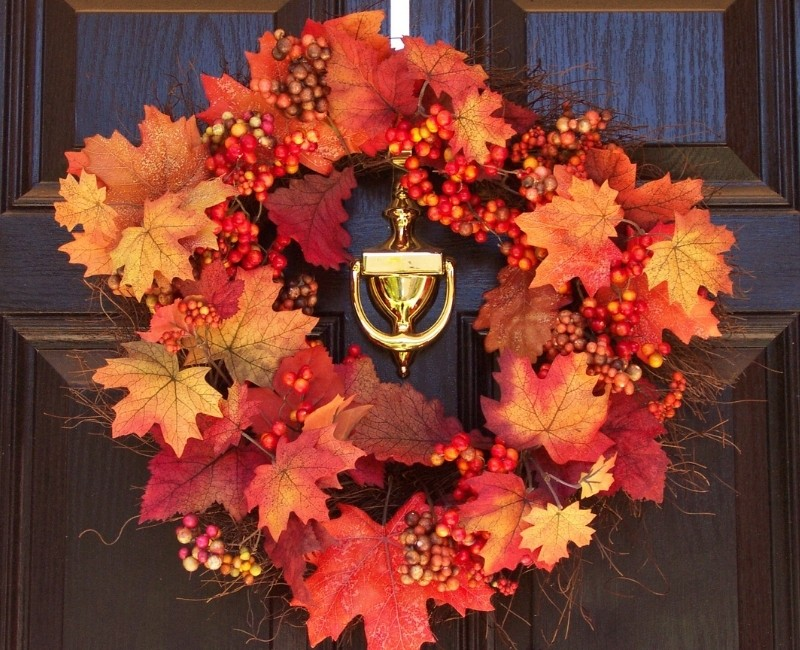 Fall Maple Leaf Fall Wreath Ideas