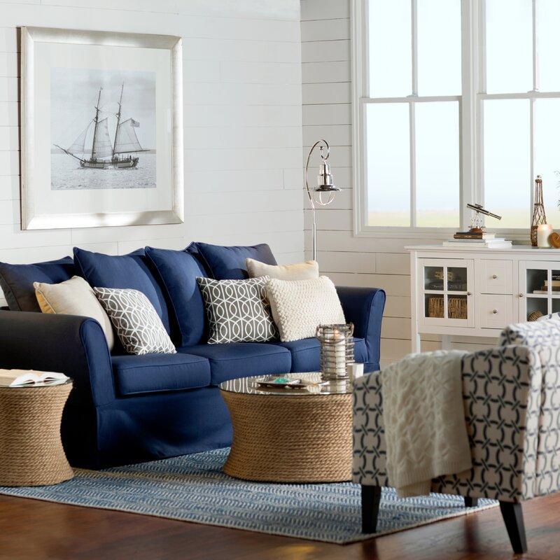 Living Room Nautical Decor