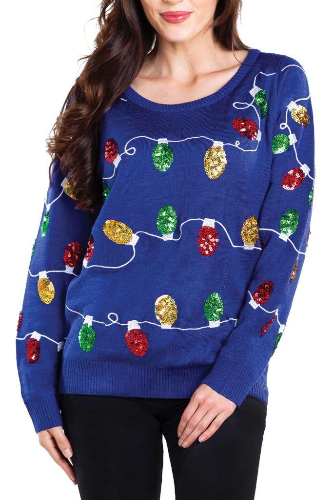 Christmas Lights Ugly Christmas Sweater