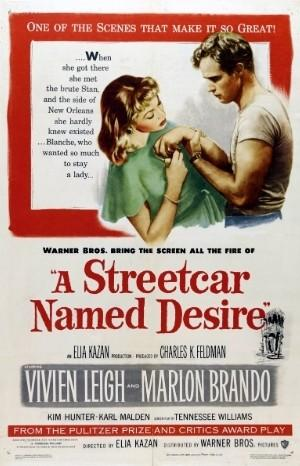 Classic Movie Poster - A Streetcar Named Desire (1951)