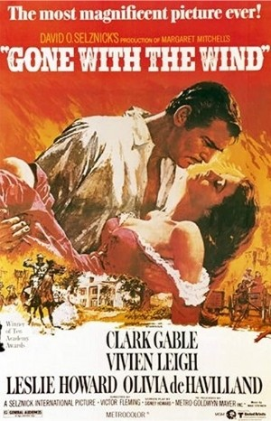 Classic Movie Poster - Gone With the Wind (1939)