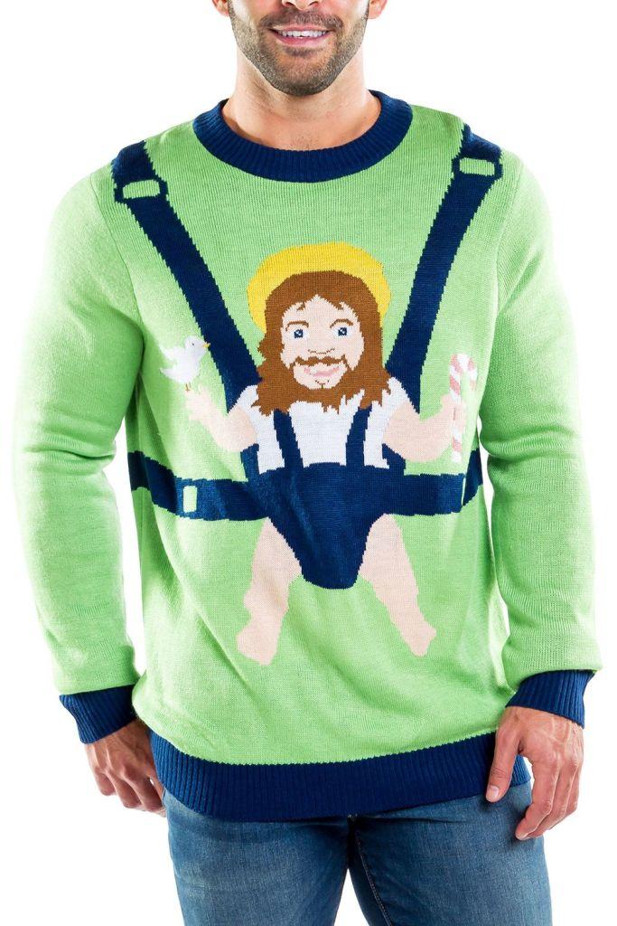 Sweet Baby Jesus Ugly Christmas Sweater