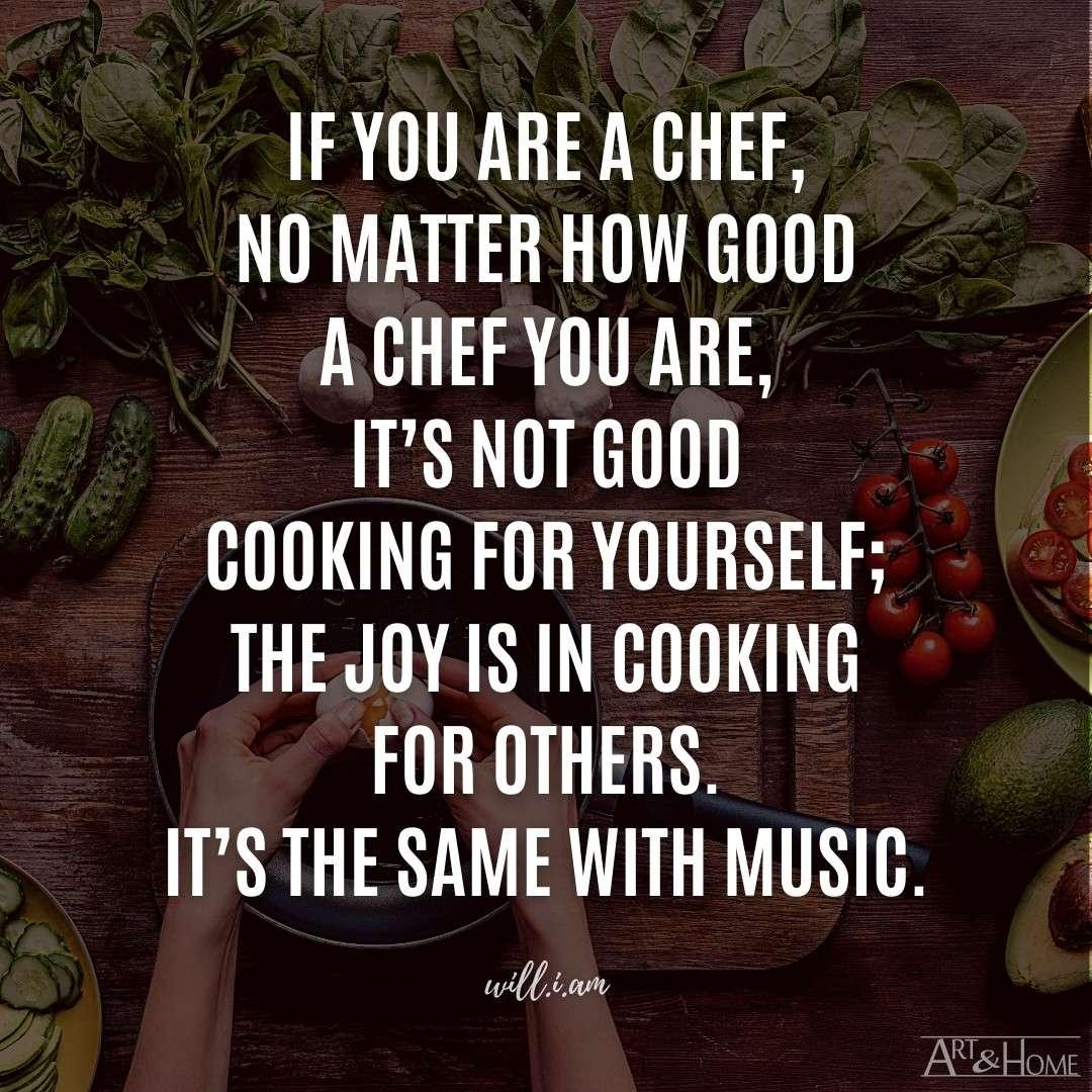Chef Quote