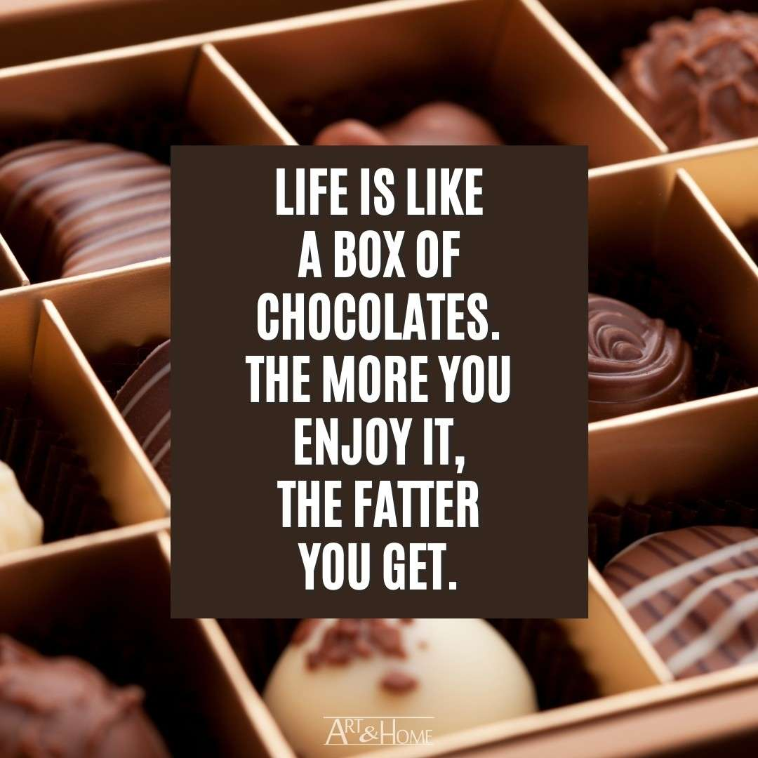 Funny Chocolate Quote