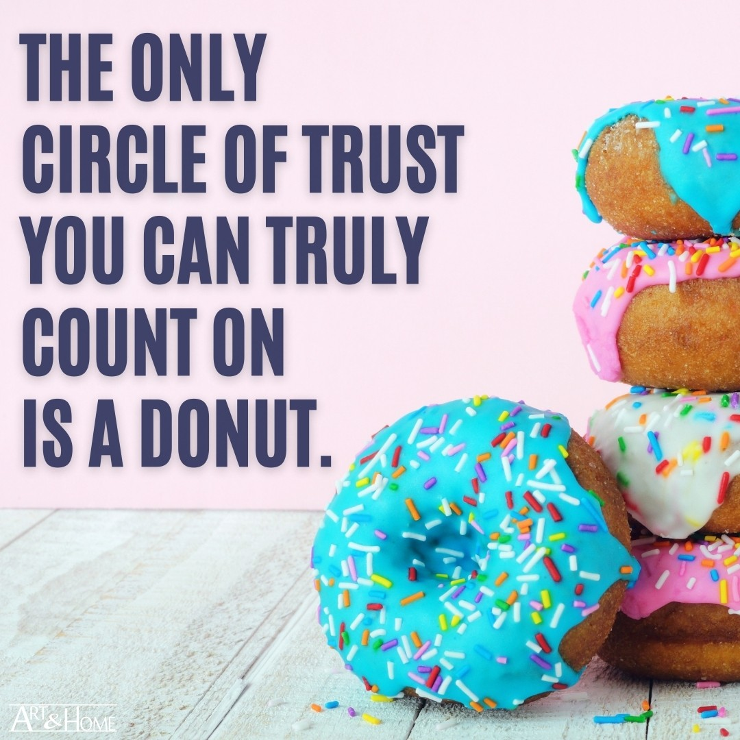 Funny Donuts Quote