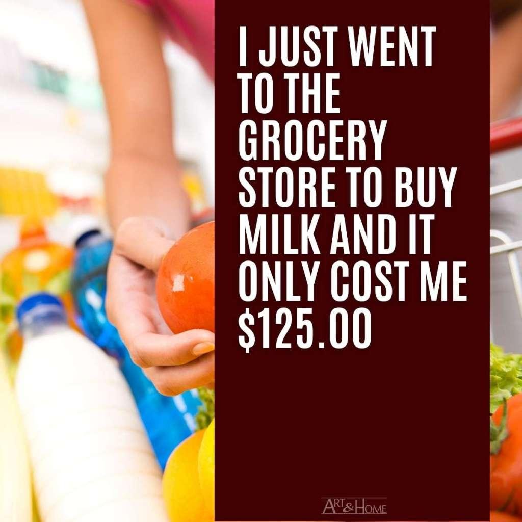 Grocery Store Milk MEME