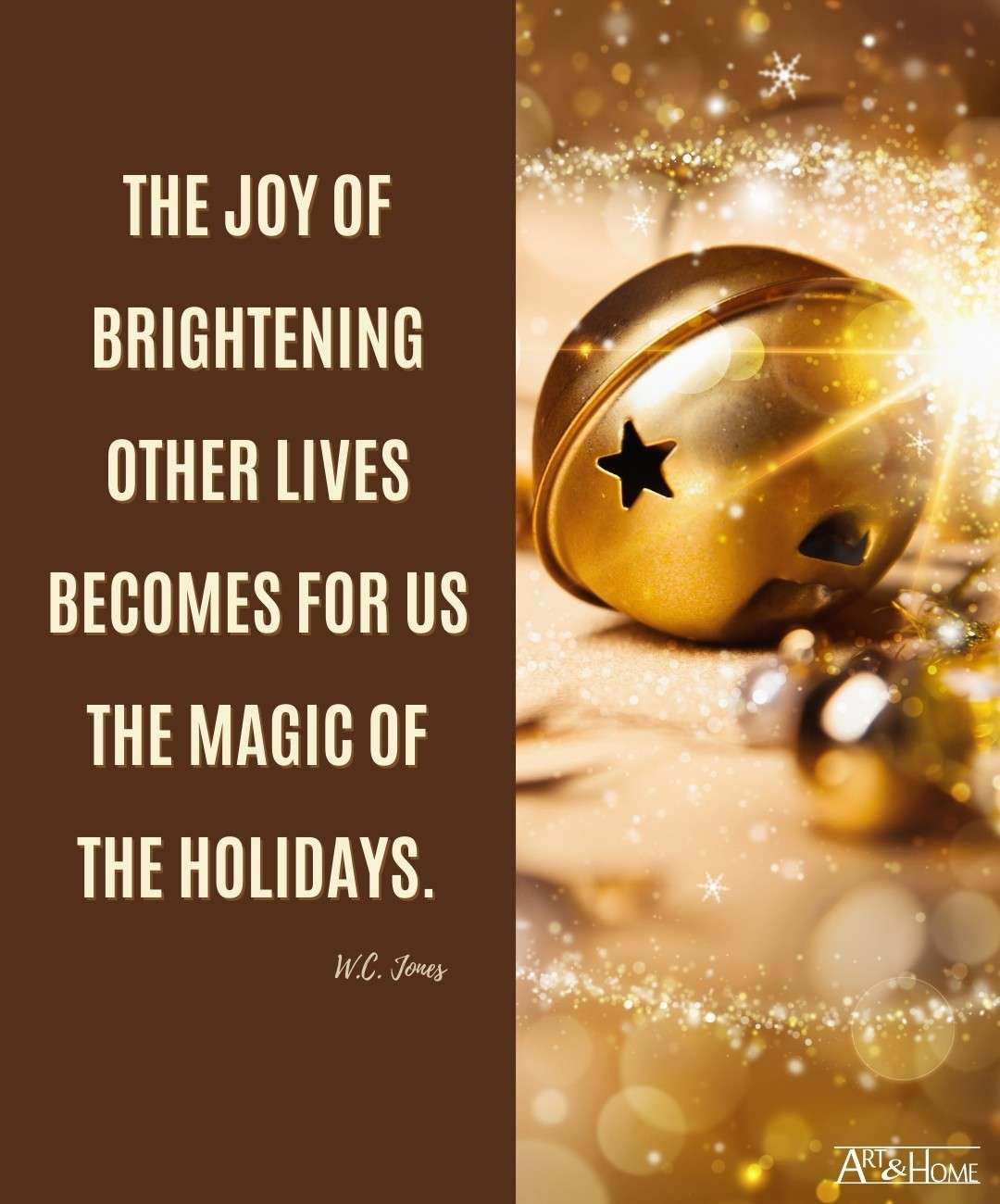 Magic of the Holidays Quote