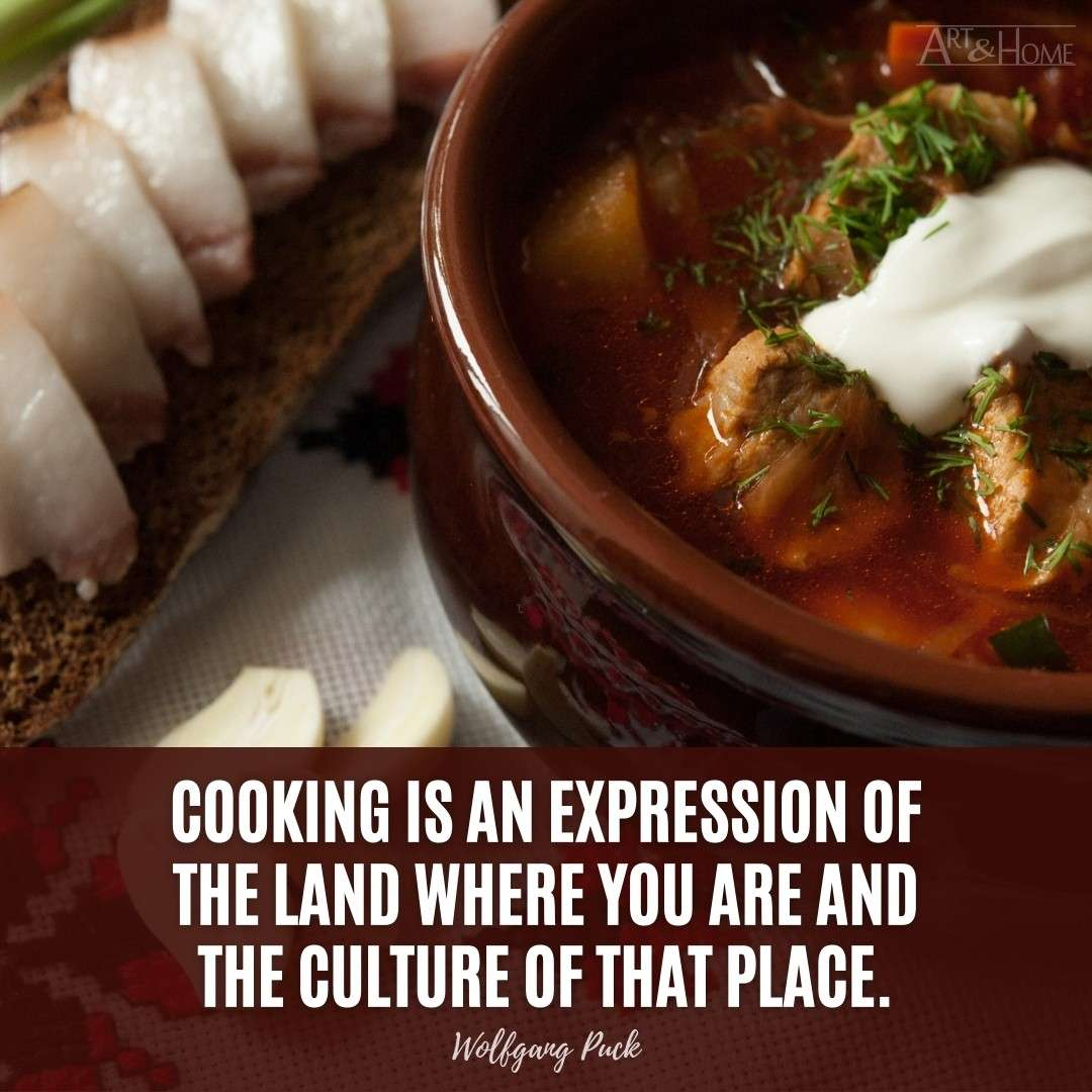 Wolfgang Puck Cooking Quote