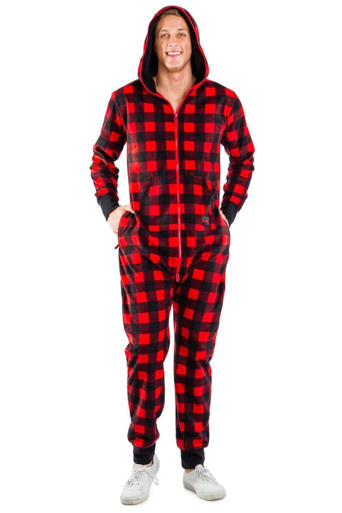 Men's Lumberjack Onesie