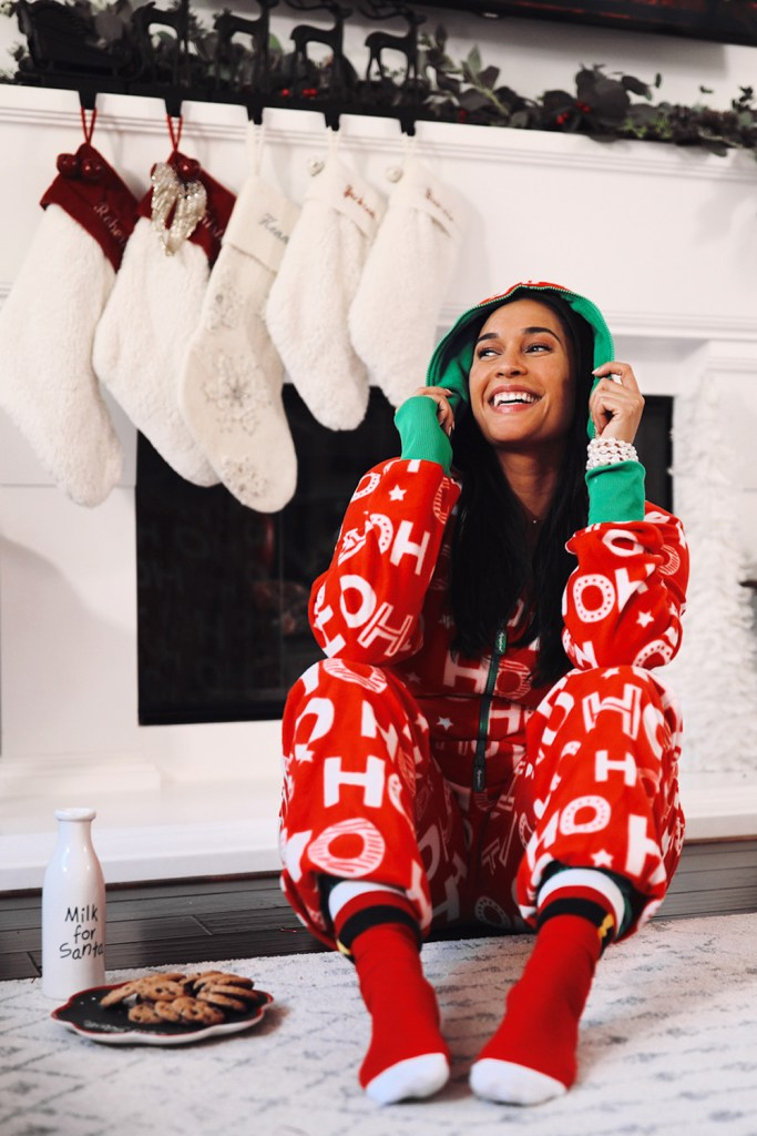 Women's Ho Ho Ho Christmas Onesie