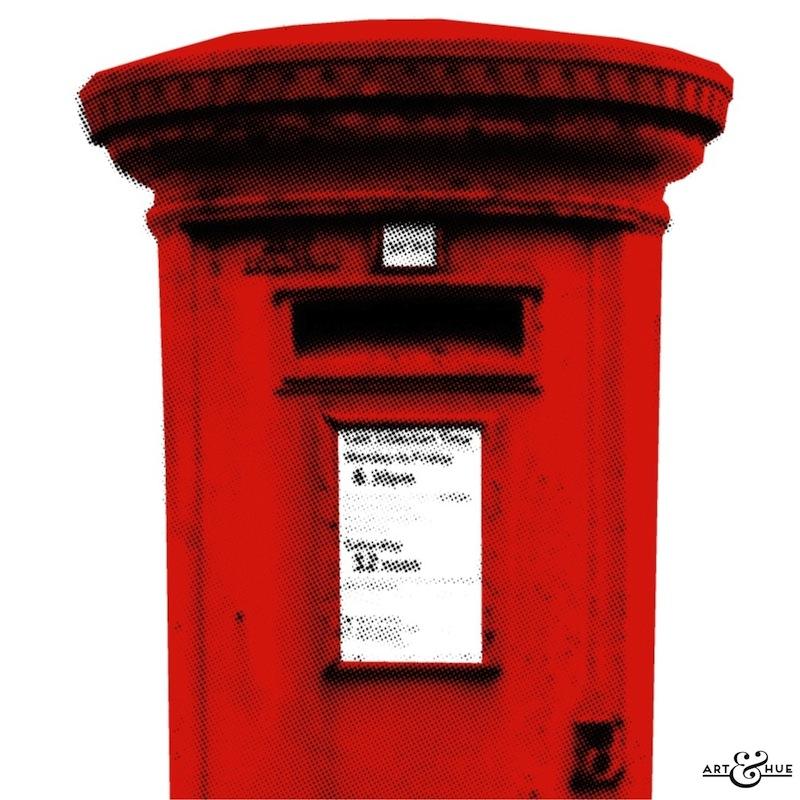 Post Box Stylish Pop Art Bespoke Amp Custom Art Art Amp Hue