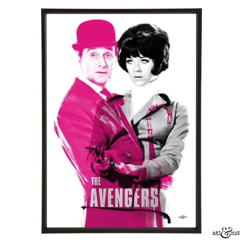 The Avengers Tara King The Avengers Graphic Pop Art