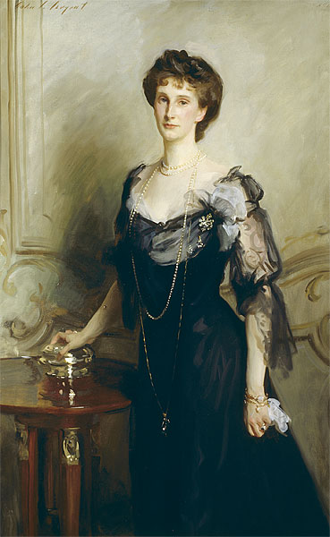 Evelyn, the Ninth Duchess of Devonshire, by John Singer Sargent (1902)