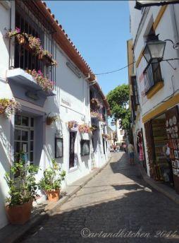 Cordoba narrow roads 4