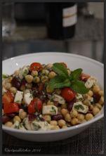 Mediterranean Chickpea Salad Balela