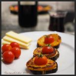 Roasted Eggplant With Harissa Potatoes and Tomatoes