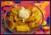 Baked Pineapple With Brown Sugar and Kahlua
