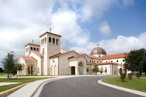 St. William Church (Austin, TX). Exterior view. Photo provided courtesy of parish.
