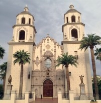 Cathedral of St. Augustine (Tucson, AZ). Photo from parish website.