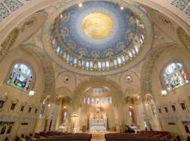 St. James Church (Louisville, KY). Interior vista. Photo from parish website.
