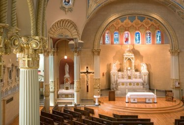 St. James Church (Louisville, KY). Sanctuary. Photo from parish website.
