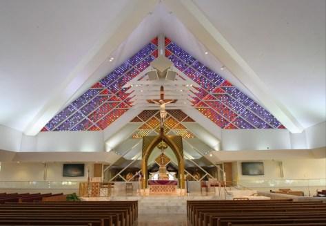 St. Jude Church (Tequesta, FL). Sanctuary. Photo from parish website.
