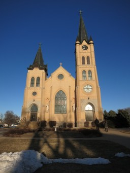 St. Mary Church (David City, NE). Exterior. Photo from website of Clark Architects Collaborative 3.