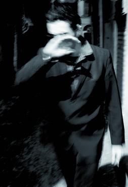 Philippe Perrin, My Speedway, 1995, photographie noir et blanc, 160 x 110 cm, 3 ex.