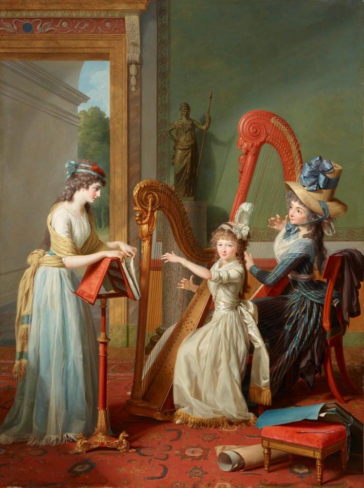 Dma Acquires 18th Century French Portrait Masterwork Art