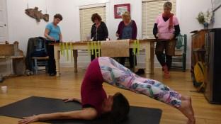 Art & Yoga workshop