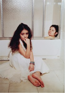 Bathroom Scene, Complicated Mother/Daughter Relationship, Antonio Pulgarin, 2007 National Gold Medal Photography Portfolio