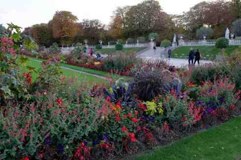 Les fleurs au Jardin du Luxembourg