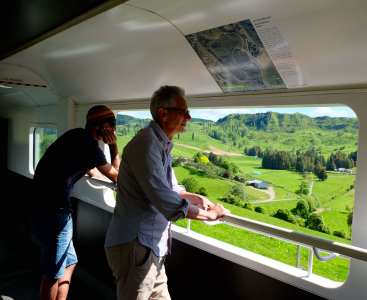 Kiwi Rail Viewing Car
