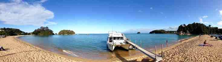 SeaShuttle service Abel Tasman