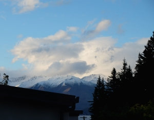 Snow in Mt Aspiring