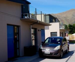 Rental car at rental apartment