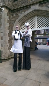 Chefs on Stilts, entertainers Ireland