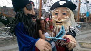Pirate entertainers