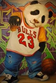 Hiphop No. 12, Fu Kailai 2008, Oil on canvas, 160 x 160 cm