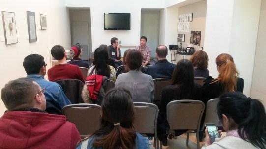ART@IU Replotting Performance Conference with MFA Playwright Maurico Miranda
