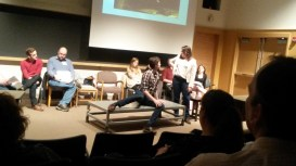 ART@IU Replotting Performance Conference with the cast of Hello Again performing selected scenes