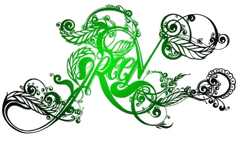 green_typography34