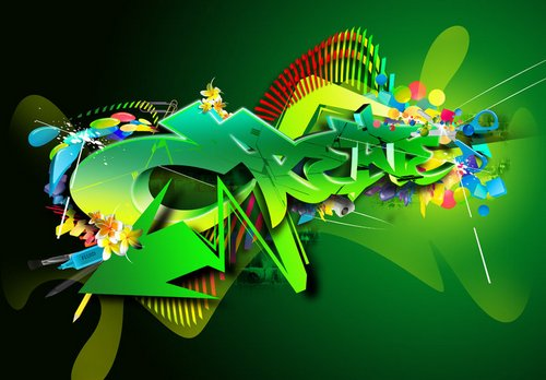 green_typography45