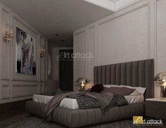 تصميم غرف نوم من ارت اتاك
