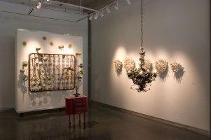 """Cynthia Giachetti, """"Installation - Spring, Alight, Reliquary, Lilies, 2007"""""""