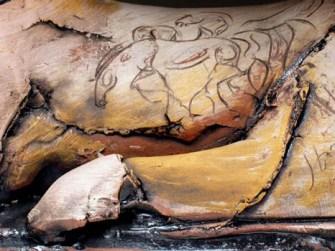 """15"""" x 6"""" x 11"""", earthenware, 2006"""